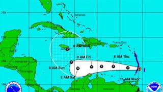 Tormenta Mateo con posibilidades de convertirse en ciclón