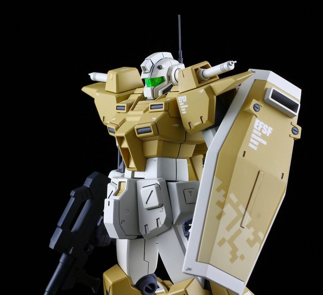 Custom Build Hgbf 1 144 Powered Gm Cardigan Gundam Kits