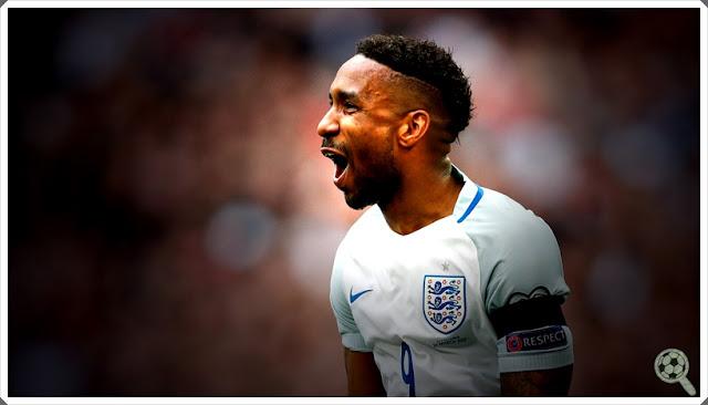 Jermain Defoe England Three Lions Inglaterra