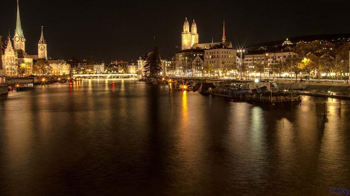 Wallpaper: Zurich City Lights