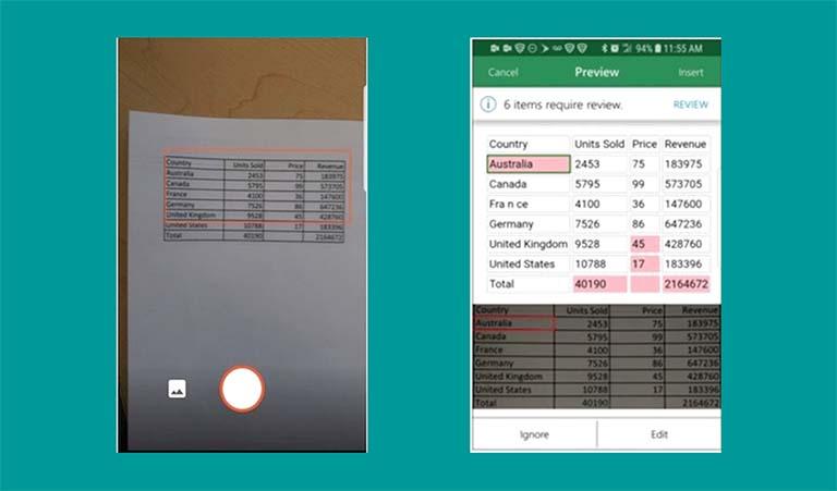 Microsoft Office Makin Canggih, Excel Bisa Mengolah Data Dari Gambar