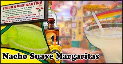 Tequila Reef Cantina Margaritas