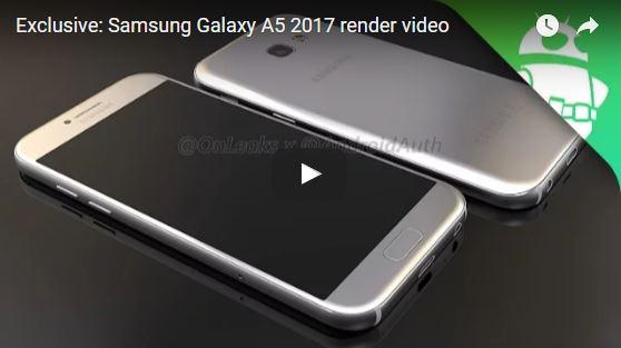 Sau thành công của Samsung Galaxy A7 2016, nhà sản xuất Hàn Quốc chuẩn bị  ra mắt thêm chiếc Galaxy A5 2017 nữa