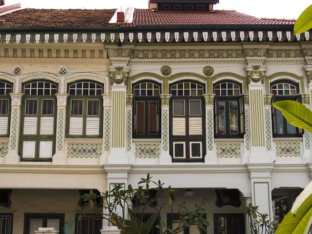 Peranakan house in Katong Joo Chiat in Singapore