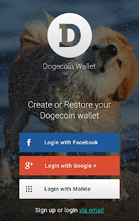 Dogecoin Cryptocurrency Login