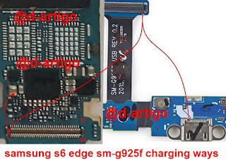 Samsung G925F S6 Edge Não Carrega
