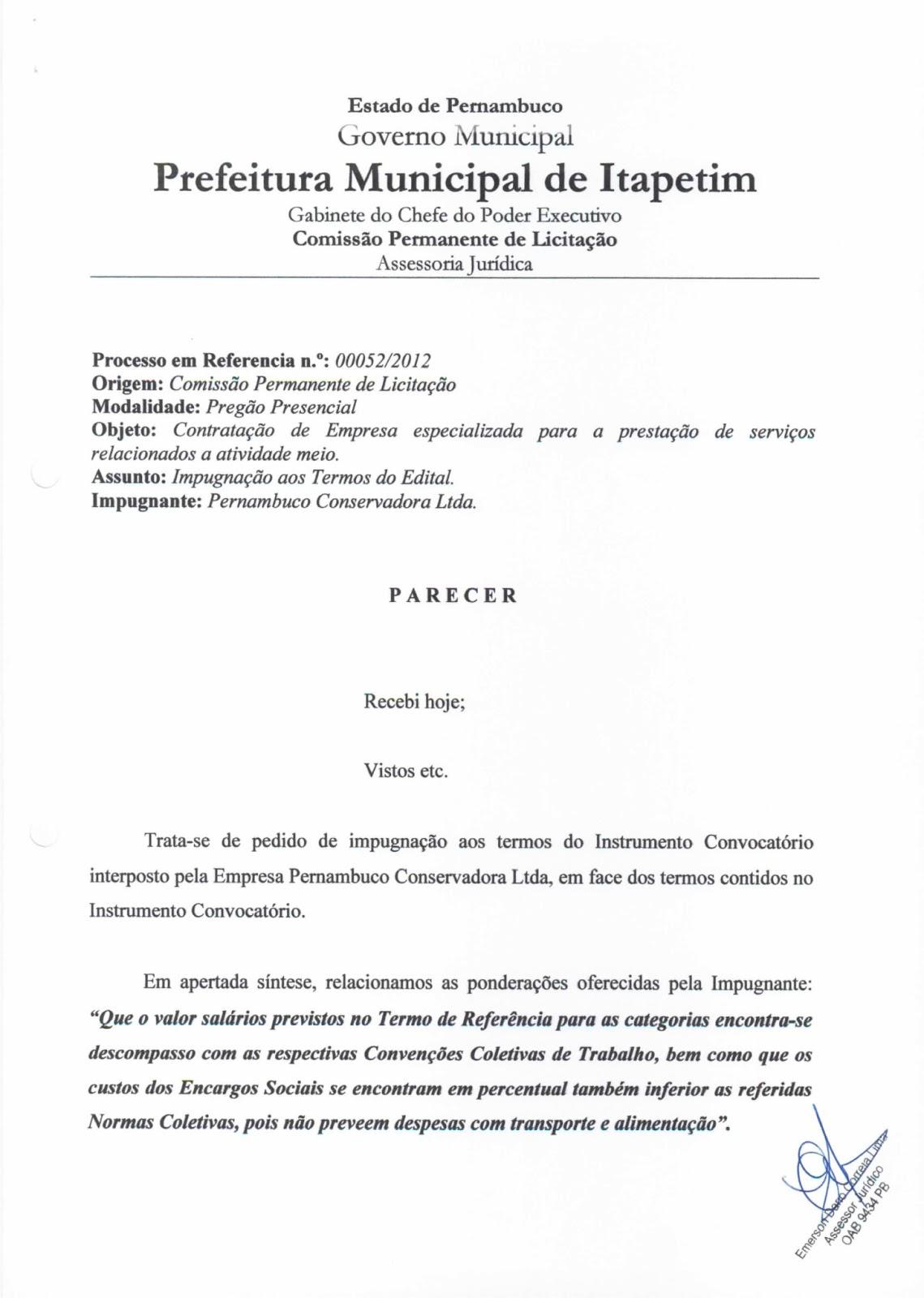 Cpli Comissão Permanente De Licitação Da Prefeitura De