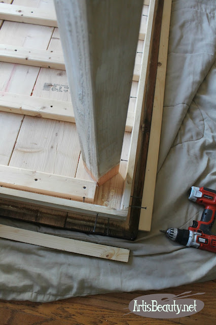 removing replacing and updating the legs of the diy build it yourself farmhouse table