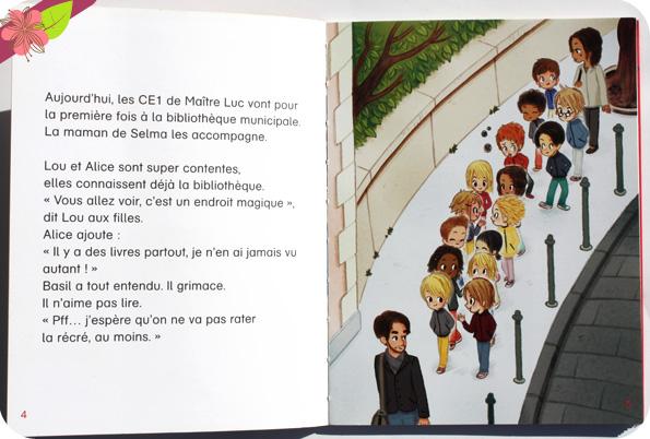Je suis en CE1 : A la bibliothèque de Magdalena et Emmanuel Ristord
