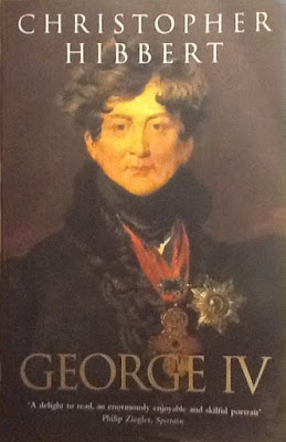 Front cover of George IV by C Hibbert