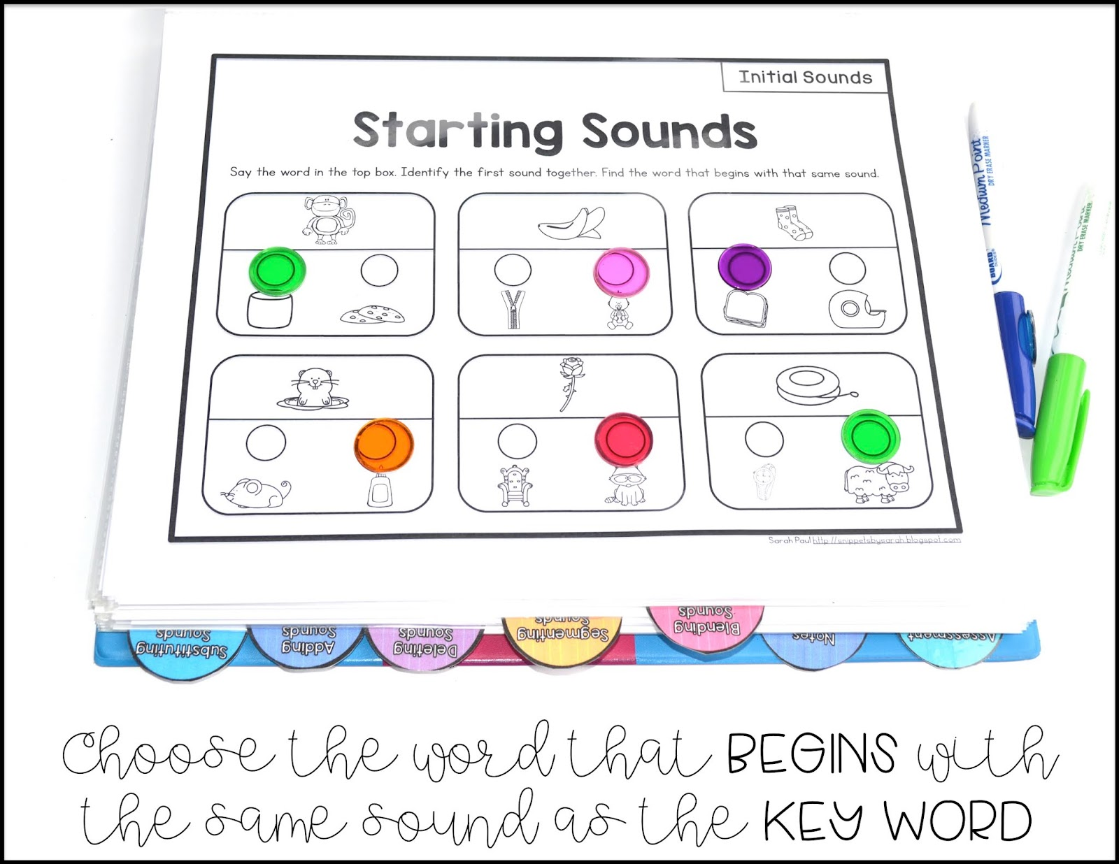 Sarah S First Grade Snippets Phonemic Awareness Rti Printables