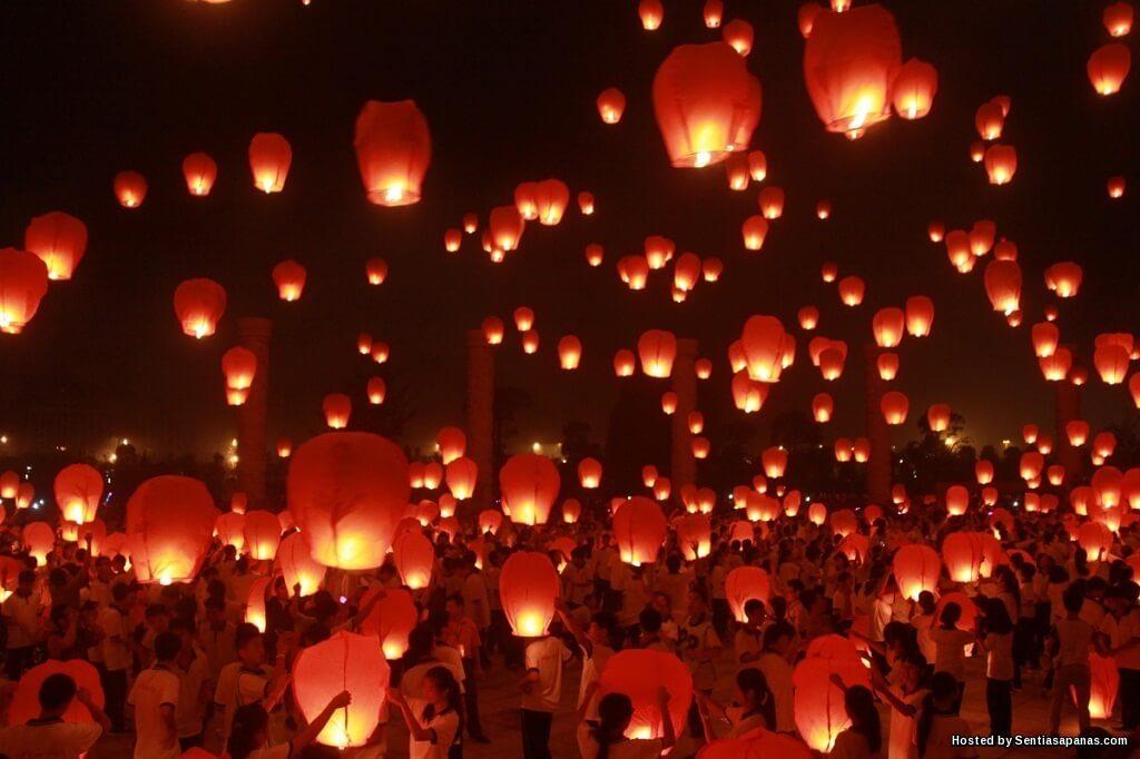 Asal-usul Sambutan Pesta Tanglung Masyarakat Tionghua