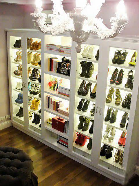 Donde guardo los zapatos by for Closet para cuartos matrimoniales