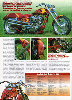 sportster custom built in 1999 on freeway magazine pag 3