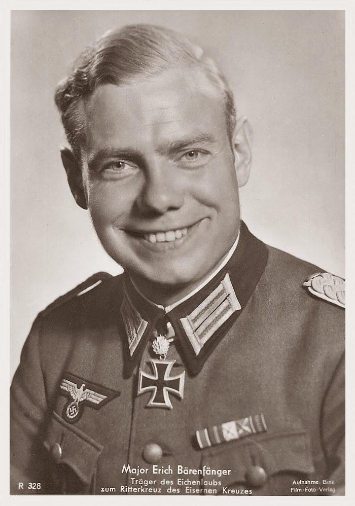 Erich Bärenfänger Ritterkreuzträger Knight Cross Holder Postcard