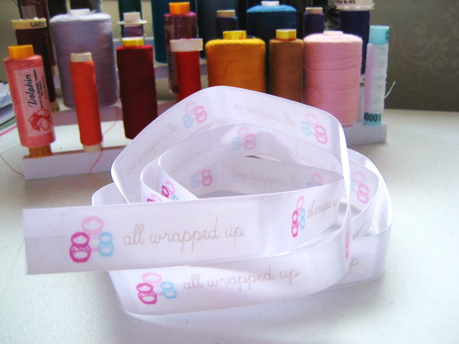 DIY fabric label tutorials - All Wrapped Up