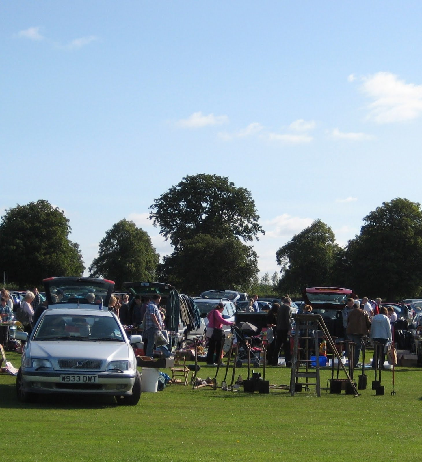 Wetherby Racecourse Car Boot Sale