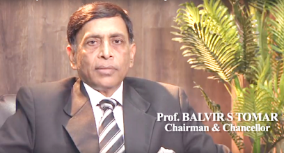Prof. (Dr.) Balvir S. Tomar Chairperson of Nims University : Gem of India