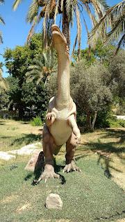 דינוזאור בתערוכת עידן הקרח