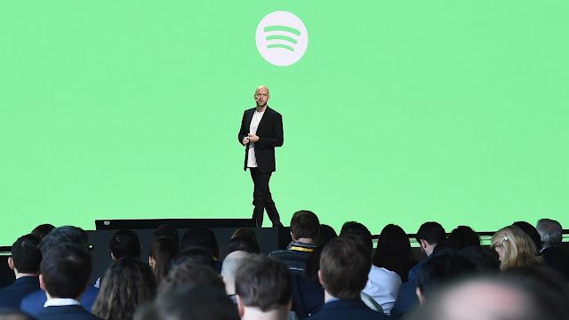 CEO Spotify Daniel Ek