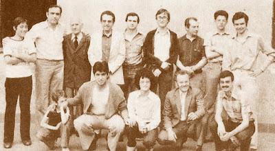 Equipo del C.C. Sant Andreu, vencedor Copa Catalana 1ª Categoría de 1979