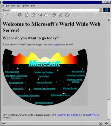 أول-صفحة-ويب-من-مايكروسوفت
