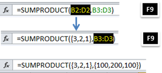 Cara Konversi Range Array Excel