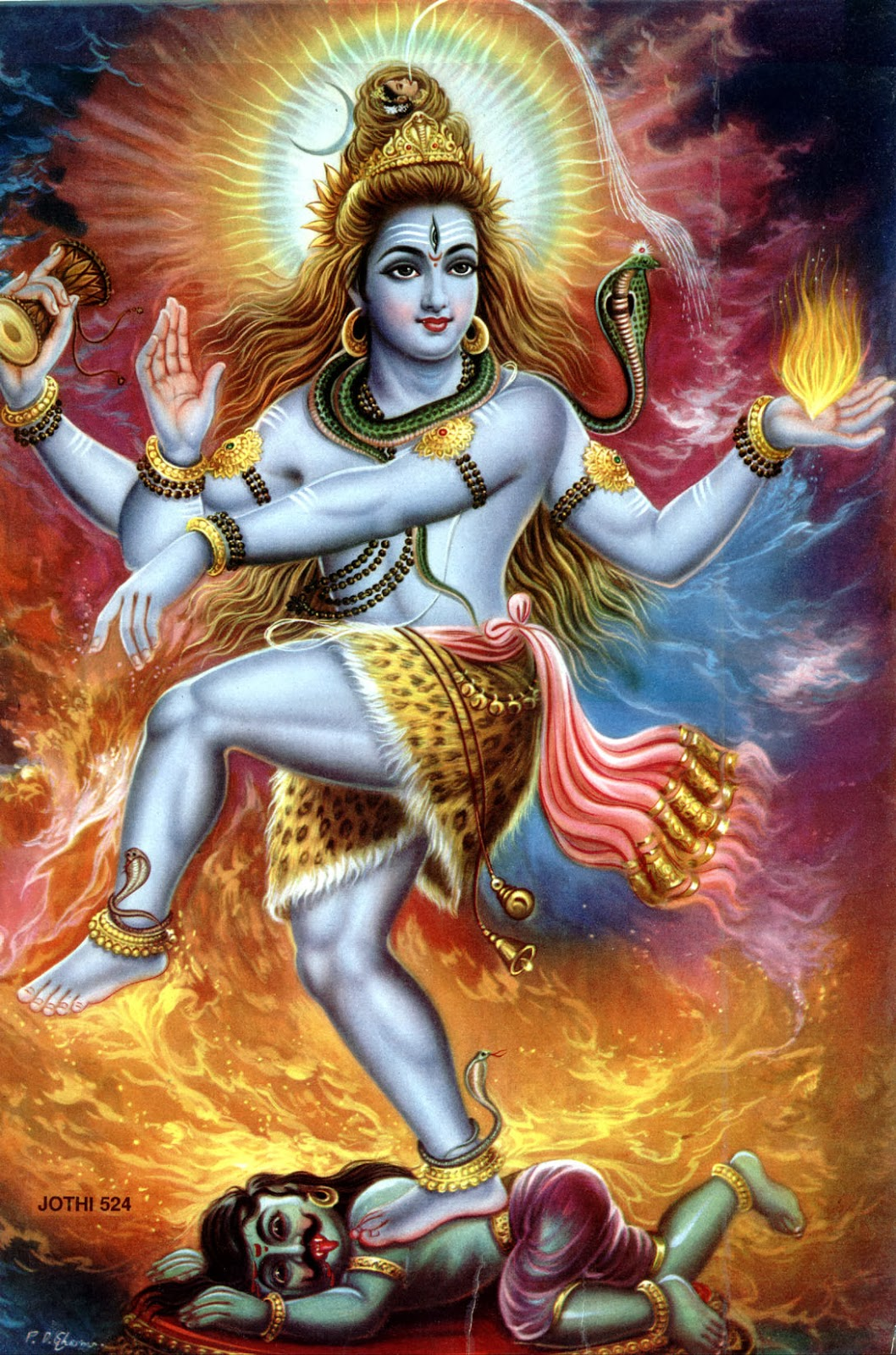 Sattva Amrita Rudra Shiva From The Book India The