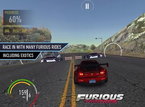 Furious Payback Racing v 1.8 Hack MOD APK Android