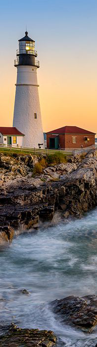Portland Head Light in Cape Elizabeth, Maine and 50+ Secret Places in America That Most Tourists Don't Know About