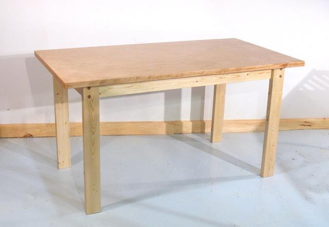 Bagaimana Cara Membuat Furniture Murah Meja Kayu Dengan Alat Sederhana