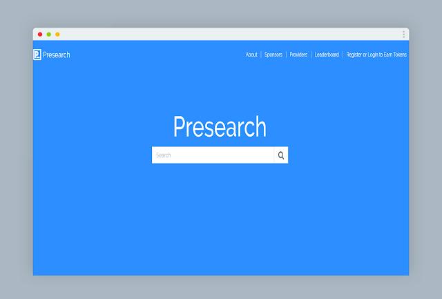 Presearch ، محرك البحث الجديد الذي يدفع لك المال مقابل البحث فيه