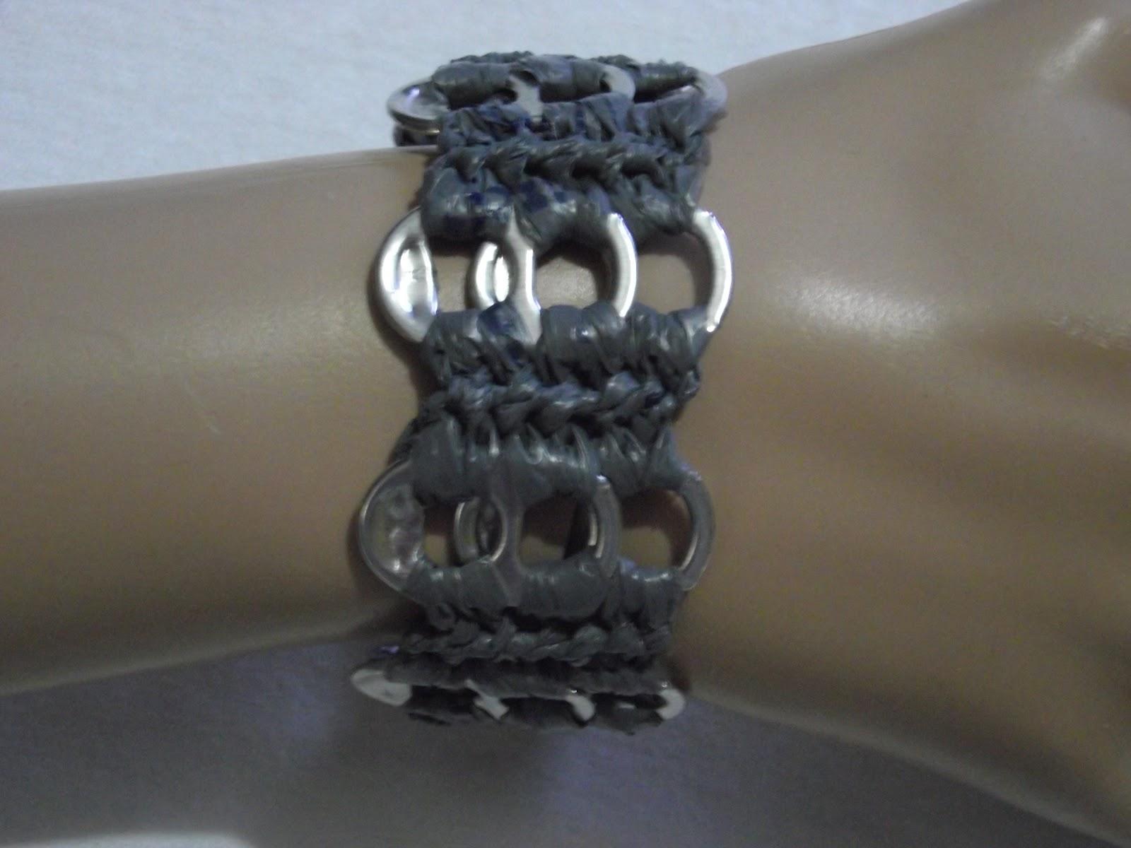 Plastique Recreations: Free Pop Tab Crochet Pattern - Glamour ...