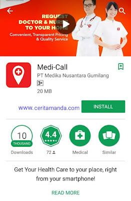 Aplikasi Medi-Call