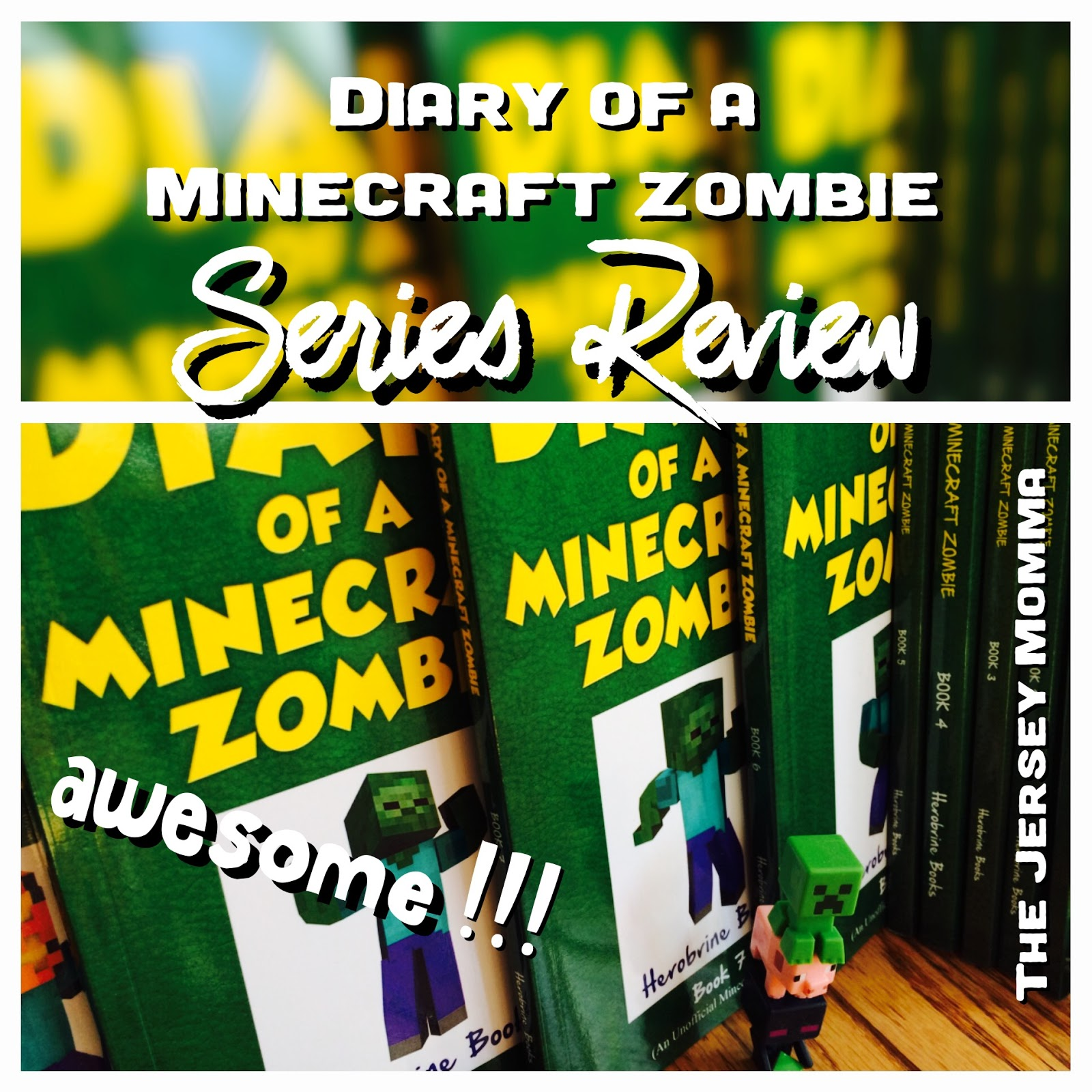 More Minecraft Books for Kids - Diary of a Minecraft Zombie