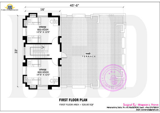 First floor plan 2016