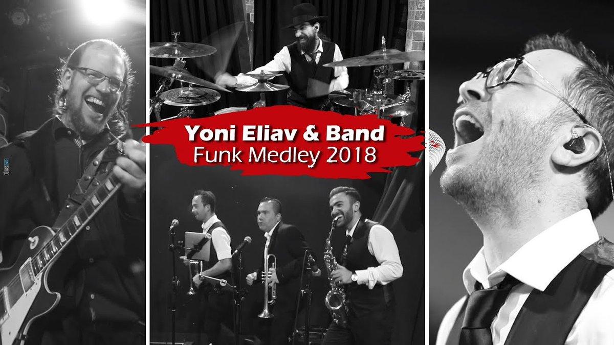 Yoni Eliav | Funk Medley 2018 | Yehudas Jewish Music Blog