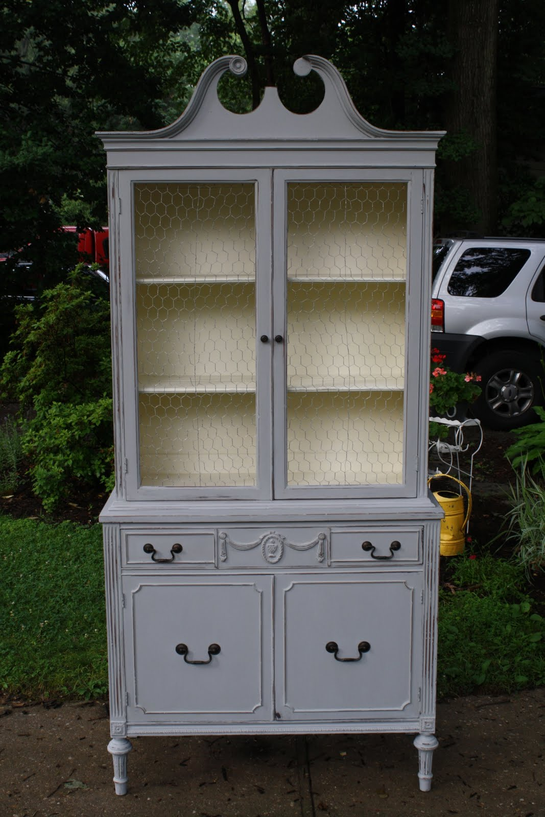 I Am Fairly Certain That Paris Gray Is Now My Favorite Chalk Paint Color. I  Just Finished Another Piece In It That I Will Share At This Weeku0027s POWW  Link ...