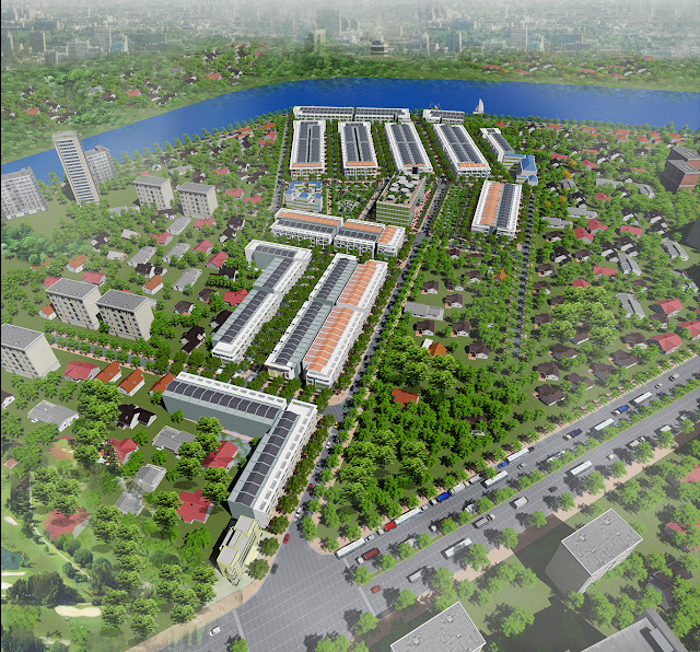 Đất nền Tấn Phát - ngay chợ Gò Đen Long An sắp mở bán rất hút nhà đầu tư. Ảnh minh họa: internet