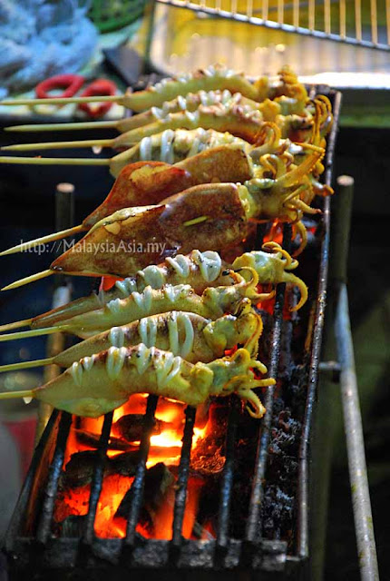 Street food in Krabi