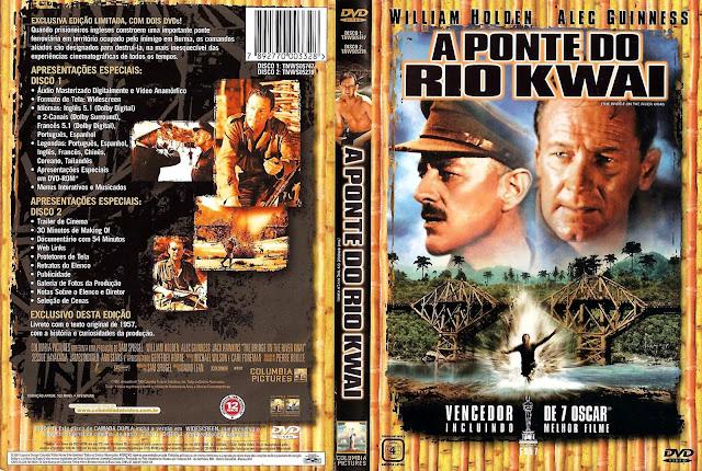 Capa DVD A Ponte do Rio Kwai