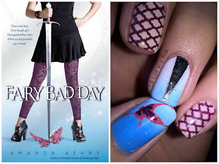 Literary Nails: Fairy Bad Day by Amanda Ashby