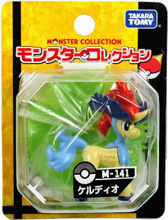 Keldeo figure Ordinary Form Takara Tomy Monster Collection M series