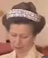 Queen Elizabeth United Kingdom Double Meander Tiara Princess Anne