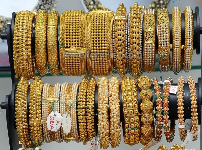 Vasundhara jewellers gold bangles latest collection ...