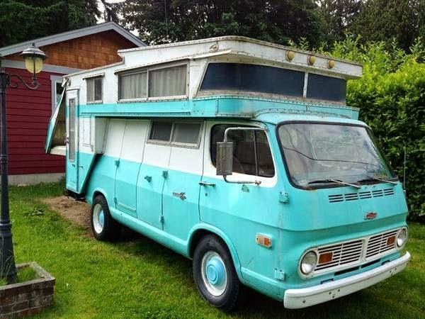 used rvs 1968 chevrolet camper van kamp king koach for sale by owner. Black Bedroom Furniture Sets. Home Design Ideas