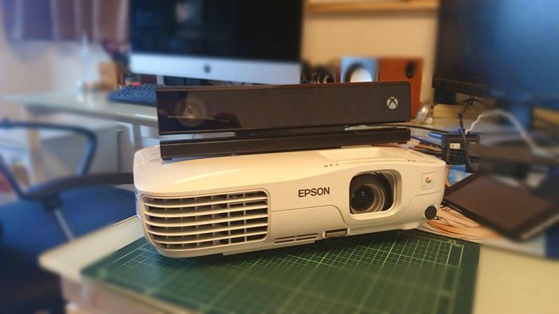 yさんのまったりブログ: Kinect v2で、RoomAliveを試してみた
