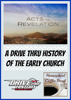 A Drive Thru History of the Early Church (A Homeschool Coffee Break Review for the Homeschool Review Crew) on Homeschool Coffee Break @ kympossibleblog.blogspot.com