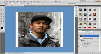 Cara Membuat Warna Teks Dengan Gambar
