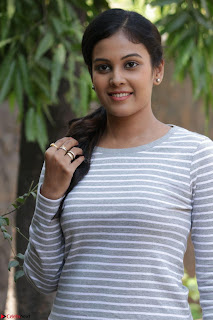 Actress Chandini in ed Tight Top at Ennodu Yilayadu tamil movie press meet ~  36.jpg